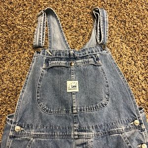 Vintage Lee Dungaree Overalls Medium